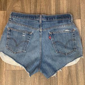 Vintage Levi's 560 Cutoff Shorts